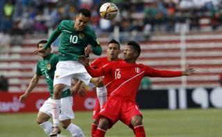 Jugador de Bolivia sufrió conmoción cerebral por una patada