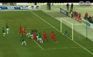Selección peruana: gol anulado por supuesta posición adelantada