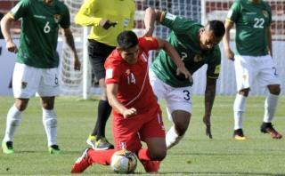 Perú cayó 2-0 ante Bolivia en La Paz y se aleja más del Mundial