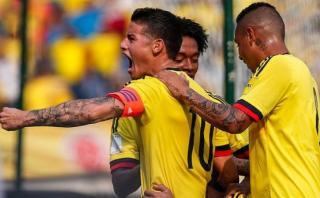 Colombia venció 2-0 a Venezuela por Eliminatorias Rusia 2018
