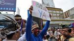 Los carteles de protesta que se vieron en la Toma de Caracas - Noticias de modelo venezolana