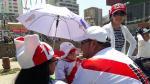 Selección: gran presencia de hinchas peruanos en La Paz - Noticias de arequipa la paz