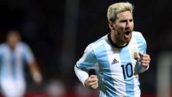 Lionel Messi abrió el marcador tras remate desviado en Giménez
