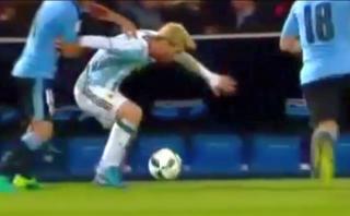La exquisita huacha de Lionel Messi: así humilló a uruguayo