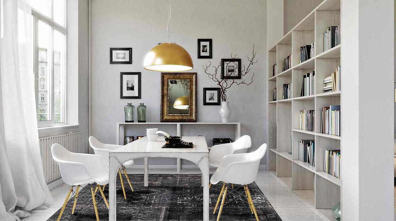 Convierte tu comedor en el espacio favorito de la casa for Comedor ahorrador de espacio