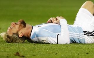 Lionel Messi quedó fuera ante Venezuela por una pubalgia