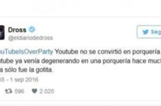 """Censura"" en YouTube provoca esta reacción de usuarios"