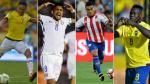 Eliminatoria Rusia 2018: la tabla de goleadores del torneo - Noticias de edwin guerrero
