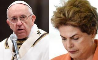 """Papa Francisco pide rezar por Brasil en """"este momento triste"""""""