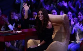 """Rebeca Escribens lloró por su madre en """"El gran show"""" [VIDEO]"""