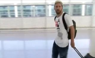 Lionel Messi arribó a Barcelona para recuperarse de pubalgia