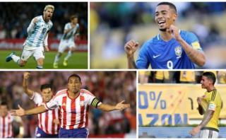 ¡Siete selecciones en cuatro puntos...!, por Jorge Barraza