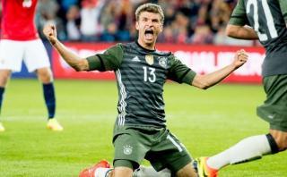 Alemania goleó 3-0 a Noruega en Eliminatorias Rusia 2018