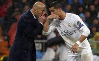 """Cristiano Ronaldo: """"Zidane fue la clave de nuestra temporada"""""""