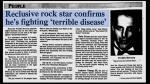 Freddie Mercury y el mensaje con el que contó que tenía sida - Noticias de robert plant