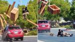 Terrible fractura de Steve-O tras truco fallido en skate - Noticias de jackass