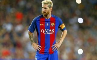 Lionel Messi: Barcelona confirmó lesión del atacante argentino