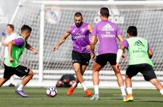Cristiano Ronaldo entrenó y volvería el sábado con Real Madrid