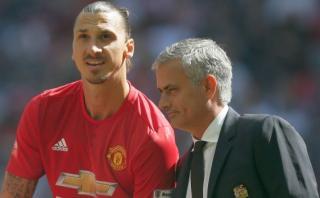 "Zlatan Ibrahimovic llenó de elogios a Mourinho: ""Es un genio"""