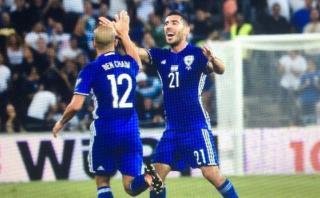 Eliminatorias: israelí marcó golazo que dejó inmóvil a Buffon