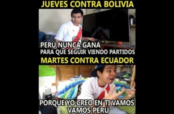 Perú vs. Ecuador: previa del partido en graciosos memes