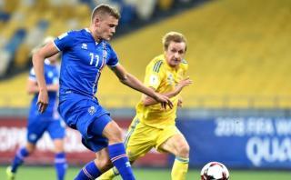 Islandia logró valioso empate ante Ucrania por Eliminatorias