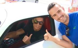 Cristiano Ronaldo: la felicidad del luso al atender a fanáticos