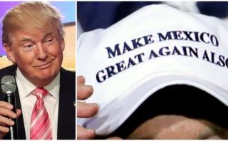 """El nuevo lema de Trump: """"Haz a México grande de nuevo también"""""""