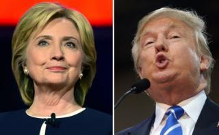 Trump y Clinton se enfrentarán en tres debates presidenciales