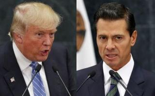 """Trump amenaza a Peña Nieto: """"Veremos quién gana al final"""""""
