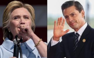 Las razones de Hillary Clinton para no reunirse con Peña Nieto