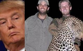 La polémica foto de los hijos de Trump que indigna a EE.UU.