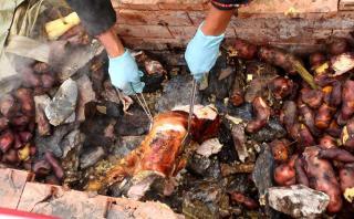 Pachamanca, un plato ancestral vigente en nuestra gastronomía