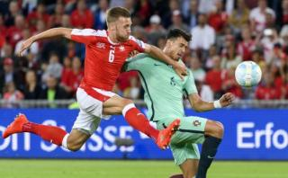 Portugal perdió 2-0 ante Suiza por Eliminatorias Rusia 2018