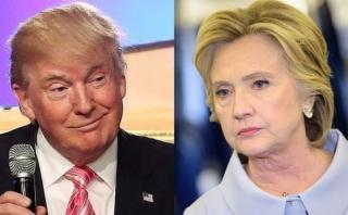 EE.UU.: Trump supera en 2 puntos a Clinton en nueva encuesta