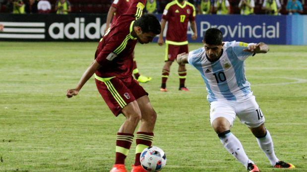 Argentina vs. Venezuela EN VIVO: igualan 2-2 por Eliminatorias