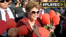 Dilma Rousseff dijo adiós a la residencia presidencial [VIDEO]