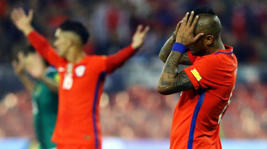 Eliminatorias: Chile empató 0 a 0 con Bolivia en Santiago