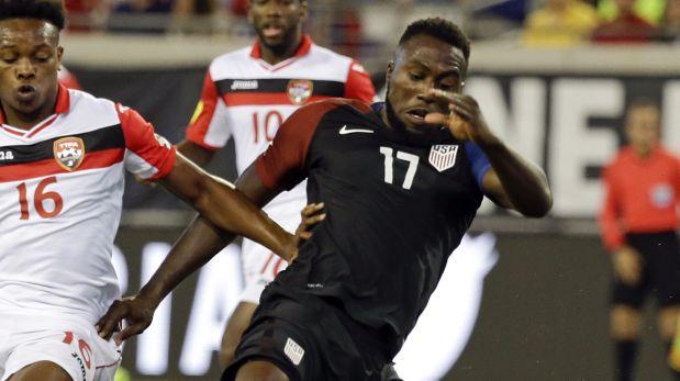 La selección de Estados Unidos venció 4-0 a la de Trinidad y Tobago y Jozy Altidore fue figura. (AP)