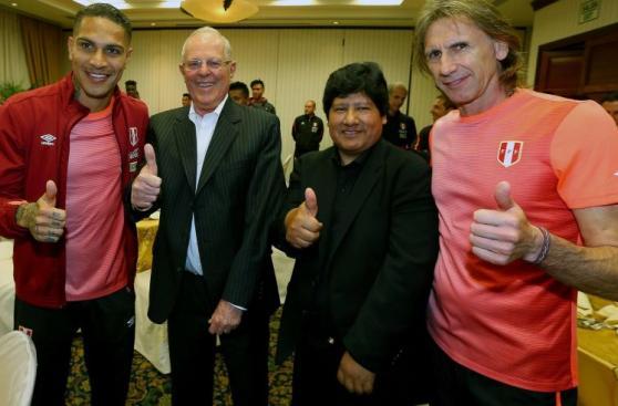 PPK con la selección peruana: así fue encuentro con jugadores