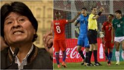 Evo Morales pide sancionar a Chile por cánticos contra Bolivia