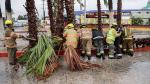 México: Las zonas más afectadas por el paso del huracán Newton - Noticias de suspenden clases