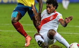 Miguel Araujo fue el mejor de Perú ante Ecuador, según lectores