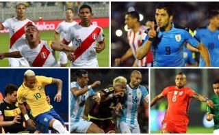 Eliminatorias: programación de las fechas 9 y 10 en Sudamérica