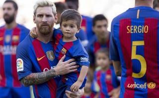 Lionel Messi: su hijo Thiago jugará en las menores de Barcelona