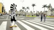 Juventus: mascota oficial del campeón italiano paseó por Lima