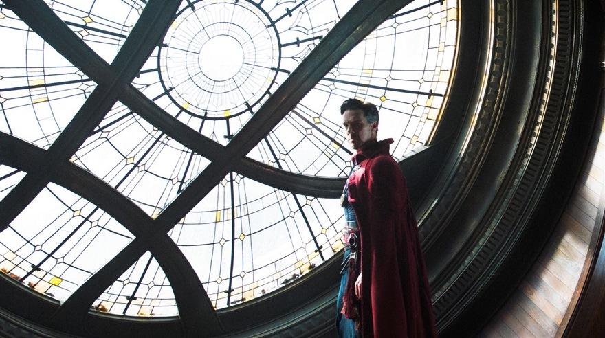 Stephen Strange en el Sacta Sanctorum. (Foto: Marvel)
