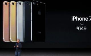 El Iphone 7 no termina de evitar caída de Apple en China