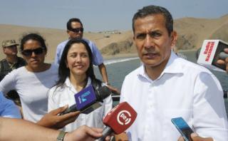 """Humala : """"Con liderazgo nacionalista lideramos el crecimiento"""""""