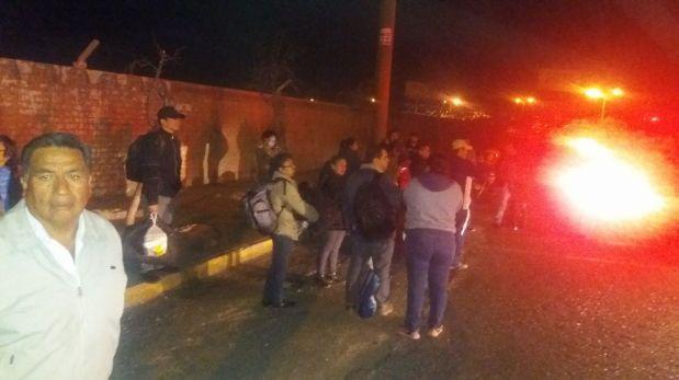 Arequipa: aeropuerto fue cerrado dos horas por amenaza de bomba